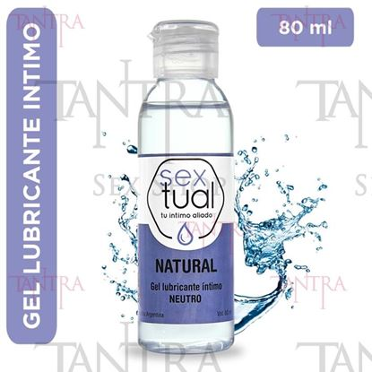 Gel lubricante Natural neutro 80ml